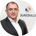 Brian Kinsella of sureskills - client of mcidesign