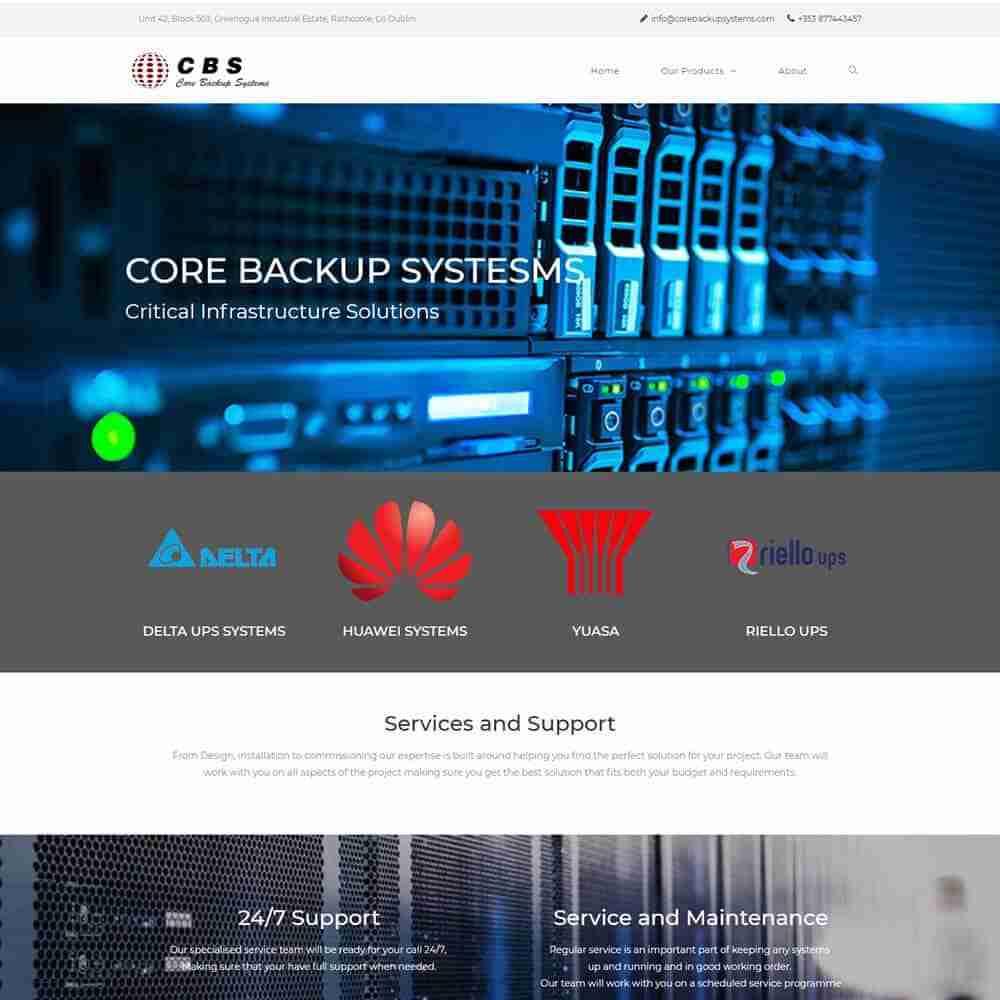 Core Backup Systems - Mci Design